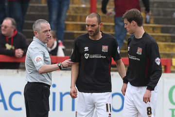 Fred Graham Accrington Stanley v Northampton Town - Sky Bet League Two