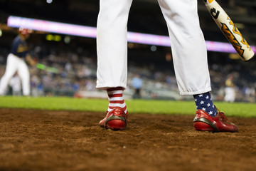 Fred Upton Members Of Congress Participate In Annual Congressional Baseball Game