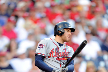 Freddie Freeman Atlanta Braves v Washington Nationals
