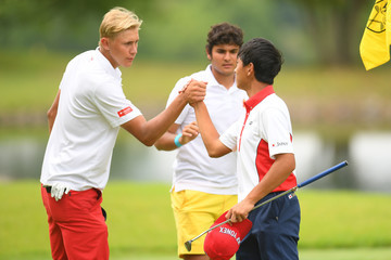 Frederik Korsgaard Sejr Toyota Junior Golf World Cup - Round Three
