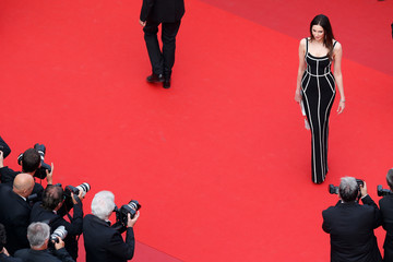 Frederique Bel 70th Anniversary Red Carpet Arrivals - The 70th Annual Cannes Film Festival