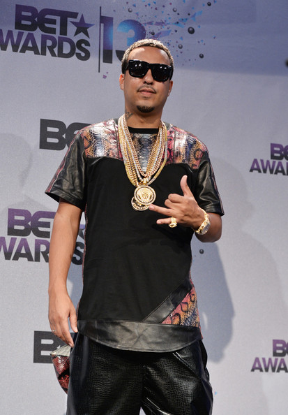 French Montana attending BET Awad