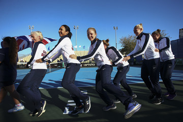 Freya Christie South Africa v Great Britain: Fed Cup Europe/Africa Group One - Day Two