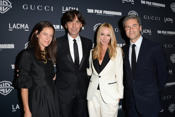 """Frida Giannini Michael Govan Gucci Presents The Restoration Premiere Of """"Rebel Without A Cause"""" At LACMA"""