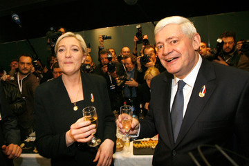 Marine Le Pen Bruno Gollnisch Front National's Congress And New President Elections in Tours - Day 2