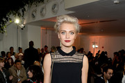 Wallis Day attends the Bora Aksu show during London Fashion Week Spring/Summer collections 2017 on September 16, 2016 in London, United Kingdom.
