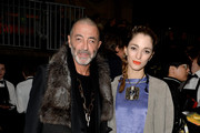 Etienne Russo and Sofia Sanchez Barrenechea attend the Lanvin show as part of the Paris Fashion Week Womenswear Fall/Winter 2015/2016 on March 5, 2015 in Paris, France.