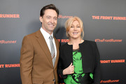 Actors Hugh Jackman and Deborra-lee Furness attend the New York premiere of 'The Front Runner' at the Museum of Modern Art on October 30, 2018 inNew York City.