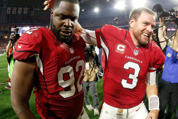 Frostee Rucker Divisional Round - Green Bay Packers v Arizona Cardinals