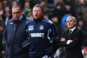 Avram Grant and Mark Hughes Photos Photo