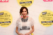 """Minnie Driver attends """"Full Frontal With Samantha Bee"""" Not The White House Correspondents Dinner at DAR Constitution Hall on April 26, 2019 in Washington, DC. (Photo by Dimitrios Kambouris/Getty Images for TBS) 558302"""