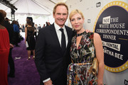 Jere Burns (L) and Morgan Walsh attend Full Frontal With Samantha Bee's Not The White House Correspondents' Dinner at DAR Constitution Hall on April 29, 2017 in Washington, DC.