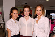 (L-R) Ashley Fitzpatrick, Erin Framel and Kelly Framel attend Furla X the Glamourai at Bloomingdale's 59th Street Store on June 12, 2014 in New York City.
