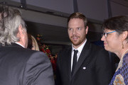 Jim Parrack attends a reception after the Washington D.C. premiere of 'Fury' at The Newseum on October 15, 2014 in Washington, DC.