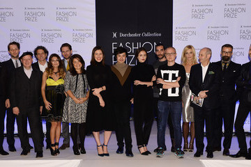 Fyodor Podgorny Huishan Zhang Dorchester Collection Fashion Prize