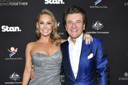 Kym Johnson and Robert Herjavec attend G'Day USA 2020 | Standing Together Dinner at the Beverly Wilshire Four Seasons Hotel on January 25, 2020 in Beverly Hills, California.