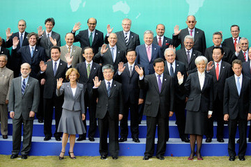 Kim Choong-Soo G20 Finance Ministers & Central Bank Governors Meeting Takes Place In Seoul
