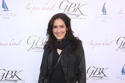 Alicia Coppola attends the GBK and La Peer Pre-Globes Luxury Lounge on January 04, 2020 in Los Angeles, California.