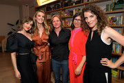 Alison Brie, Betty Gilpin, Cindy Holland, Carly Mensch and Liz Flahive attend the 'GLOW' Season 3 Special Screening At The Wing LA at The Wing on August 06, 2019 in West Hollywood, California.