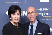 (L-R) Marilyn Katzenberg and Jeffrey Katzenberg attend the GLSEN Respect Awards Los Angeles at the Beverly Wilshire Four Seasons Hotel on October 25, 2019 in Beverly Hills, California.