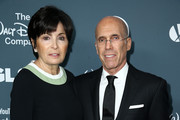 Marilyn Katzenberg (L) and Jeffrey Katzenberg attend the GLSEN Respect Awards at the Beverly Wilshire Four Seasons Hotel on October 19, 2018 in Beverly Hills, California.