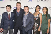 Robin Lord Taylor, Sean Pertwee, Danny Cannon, and Zabryna Guevara, Jada Pinkett Smith attend the GOTHAM Panel At PaleyFest NY on October 18, 2014 in New York City.