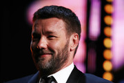 Joel Edgerton accepts the Man of The Year award during the GQ Australia Men of The Year Awards Ceremony at The Star on November 14, 2018 in Sydney, Australia.
