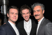 (L-R) Jonathan Groff, Dan Stevens and Taika Waititi attend GQ and Dior Homme private dinner in celebration of The 2017 GQ Men Of The Year Party at Chateau Marmont on December 7, 2017 in Los Angeles, California.  (Photo by Charley Gallay/Getty Images for GQ) *** Local Caption *** Jonathan Groff; Dan Stevens; Taika Waititi
