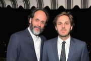 Luca Guadagnino and Ferdinando Cito Filomarino attend GQ and Dior Homme private dinner in celebration of The 2017 GQ Men Of The Year Party at Chateau Marmont on December 7, 2017 in Los Angeles, California.  (Photo by Charley Gallay/Getty Images for GQ) *** Local Caption *** Luca Guadagnino; Ferdinando Cito Filomarino