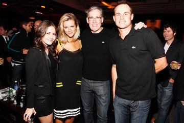 Andy Roddick Brooklyn Decker GQ, Lacoste And Patron Tequila Celebrate The Super Bowl In Indianapolis