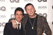 Miles Kane and Professor Green attend the GQ Men of the Year awards at the Tate Modern on September 5, 2018 in London, England.