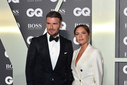David Beckham and Victoria Beckham attend the GQ Men Of The Year Awards 2019 at Tate Modern on September 03, 2019 in London, England.