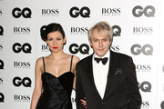Nefer Suvio and Nick Rhodes attend the GQ Men of the Year awards at The Royal Opera House on September 3, 2013 in London, England.