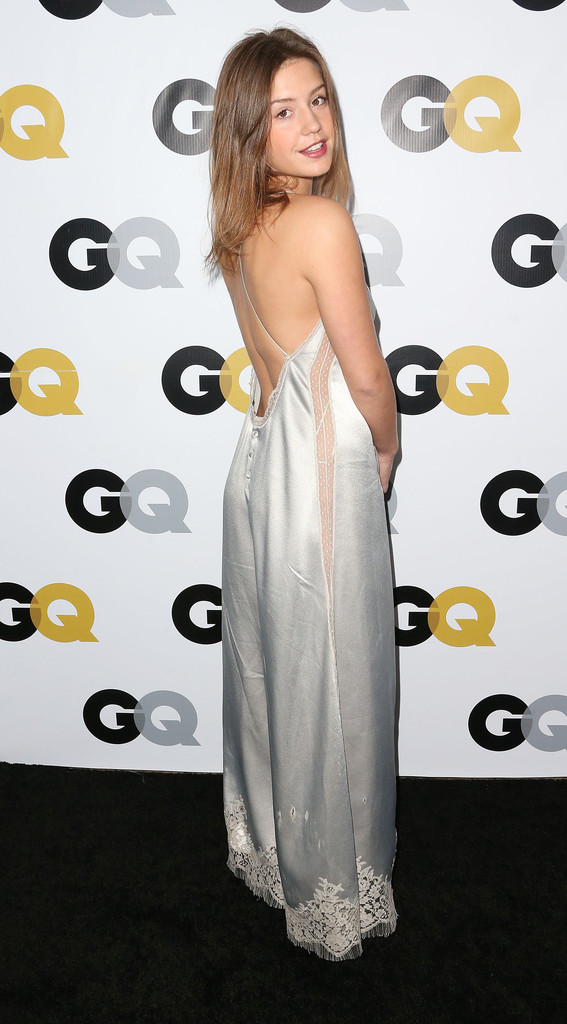 Actress Adele Exarchopoulos attends the GQ Men Of The Year Party at The Ebell Club of Los Angeles on November 12, 2013 in Los Angeles, California.