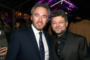 British Consul General Michael Howells and actor Andy Serkis  attends the Great British Film Reception honoring the British nominees of The 90th Annual Academy Awards on March 2, 2018 in Los Angeles, California.
