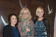 """(L-R) Actors Rhea Perlman, Blythe Danner and Malin Akerman attend """"I'll See You in My Dreams"""" cast party at the GREY GOOSE Blue Door during Sundance on January 27, 2015 in Park City, Utah."""