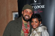 (L-R) Lifestyle Specialist Kenny Burns and Jessica Burns attend Atlanta Trey Songz concert hosted by GREY GOOSE Cherry Noir at Fox Theater on November 17, 2012 in Atlanta, Georgia.