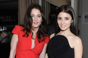Actresses Robin Tunney (L) and Shiri Appleby attend GREY GOOSE Pre-Oscar Party at Sunset Tower on March 1, 2014 in West Hollywood, California.