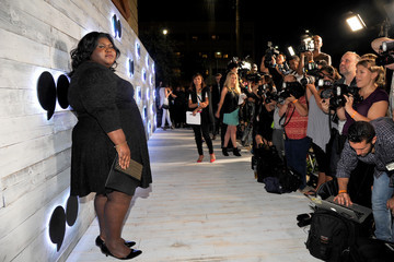 Gabourey Sidibe VIP Sneak Peek of go90 Social Entertainment Platform - Red Carpet