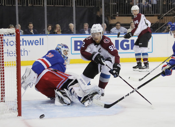 Colorado Avalanche vs. New York Rangers