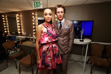 Gabriel Mann Ashley Madekwe 15th Annual Costume Designers Guild Awards With Presenting Sponsor Lacoste - Green Room