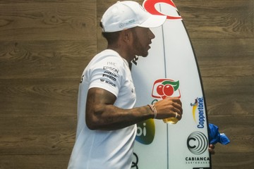 Gabriel Medina F1 Grand Prix of Brazil - Previews