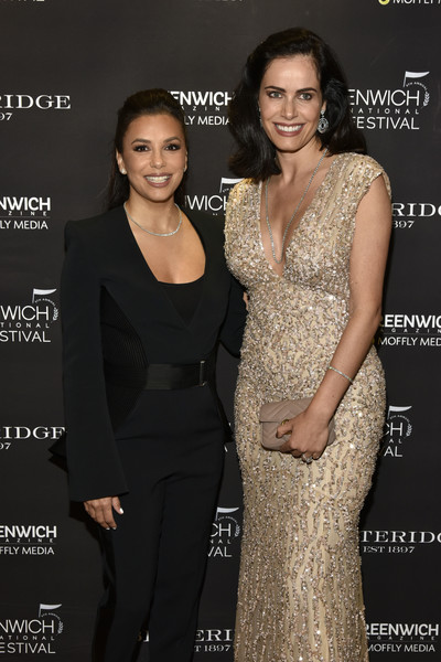 The Greenwich International Film Festival 5th Annual Changemaker Gala Honoring Eva Longoria Baston And Bobby Walker [clothing,dress,fashion,beauty,skin,hairstyle,neck,premiere,event,formal wear,bobby walker,eva longoria baston,gabriela dias,betteridge,red carpet,greenwich,connecticut,greenwich international film festival 5th annual changemaker gala,the greenwich international film festival 5th annual changemaker gala]