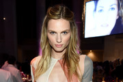Model Andreja Pejic attends Angel Ball 2015 hosted by Gabrielle's Angel Foundation at Cipriani Wall Street on October 19, 2015 in New York City.