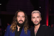 (L-R) Tom Kaulitz and Bill Kaulitz attend the Angel Ball 2019 hosted by Gabrielle's Angel Foundation at Cipriani Wall Street on October 28, 2019 in New York City.