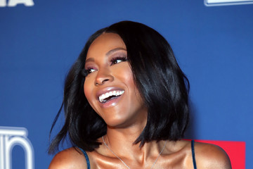 Gabrielle Dennis BET Presents: 2018 Soul Train Awards - Red Carpet & Arrivals