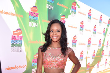 Gabrielle Douglas Arrivals at the Nickelodeon Kids' Choice Sports Awards — Part 2