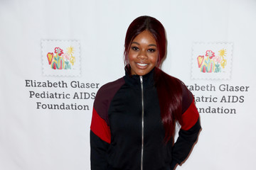 Gabrielle Douglas The Elizabeth Glaser Pediatric AIDS Foundation's 28th Annual A Time for Heroes Family Festival