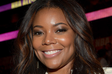 Gabrielle Union Celebrities Attend The 63rd NBA All-Star Game 2014