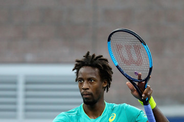 Gael Monfils 2017 US Open Tennis Championships - Day 4